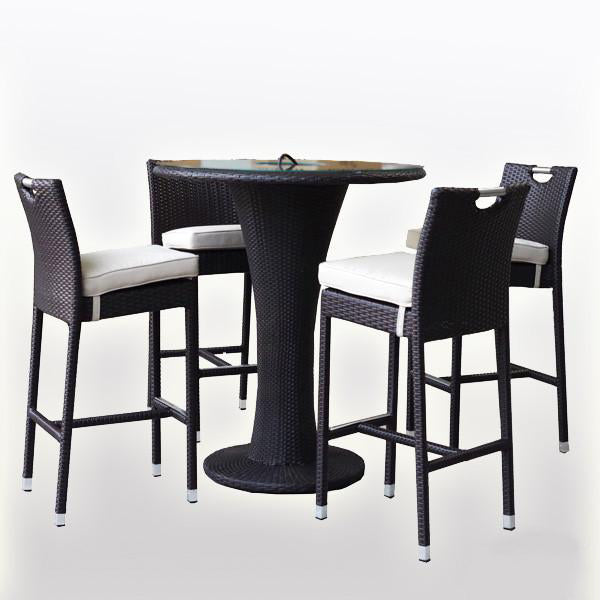 Outdoor Furniture - Wicker Bar Set - Las Vegas