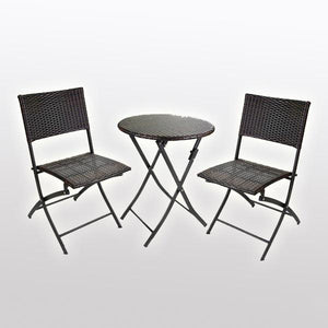 Outdoor Furniture - Wicker Folding Set - Adventure