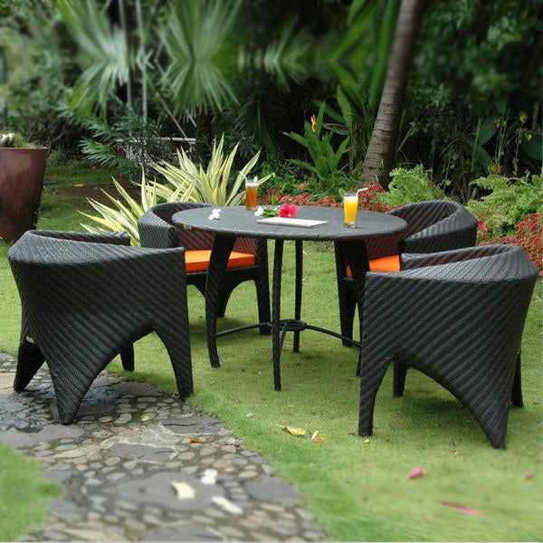 Outdoor Wicker - Stackable Set - Pacific