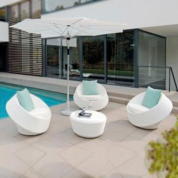 Outdoor Wicker - Stackable Set - Axis