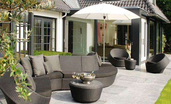 Outdoor Furniture - Wicker Sofa - Axis