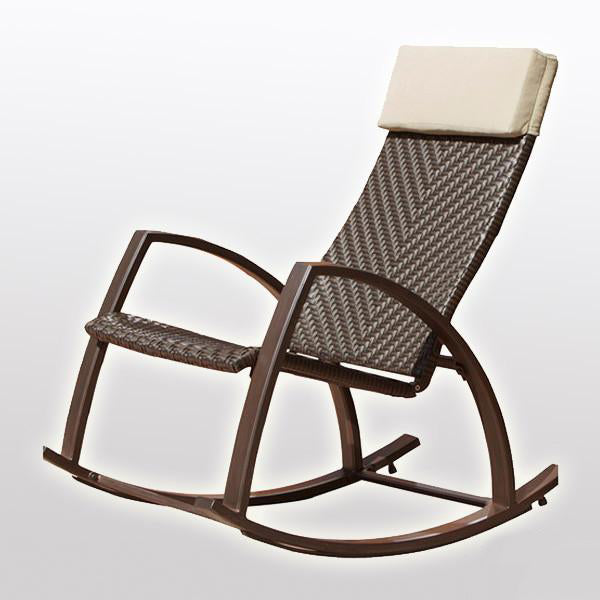 Outdoor Wicker - Rocking Chair - Canella