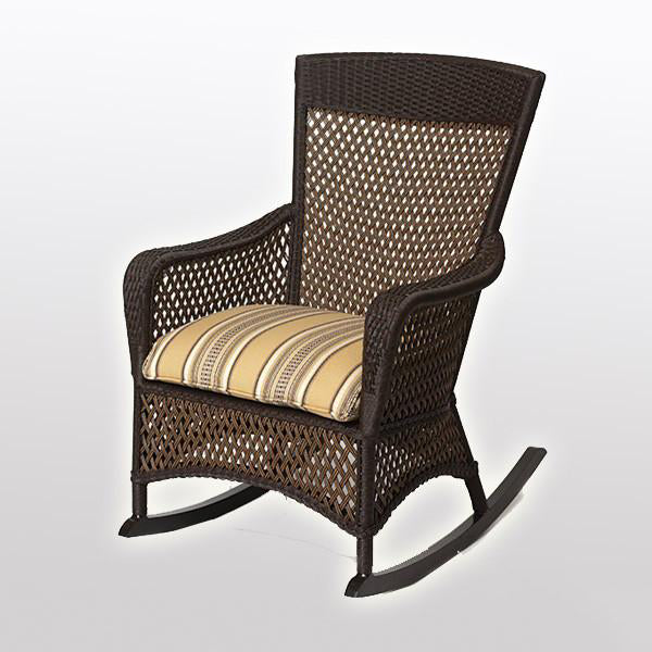 Outdoor Wicker - Rocking Chair - Vintage