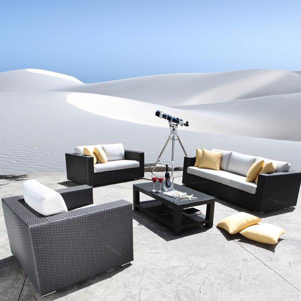 Outdoor Furniture - Wicker Sofa - Desert