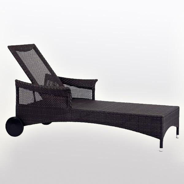 Outdoor Furniture - Sun Lounger - Fossil