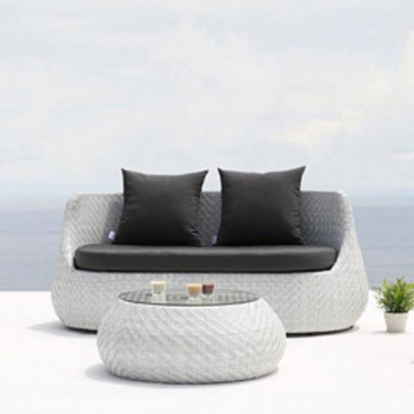 Outdoor Wicker Sofa - Classique
