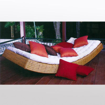 Outdoor Wicker Rocking Day Bed - Riviera