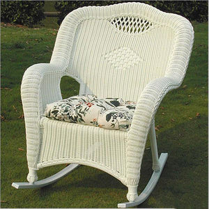 Outdoor Wicker - Rocking Chair - Olive
