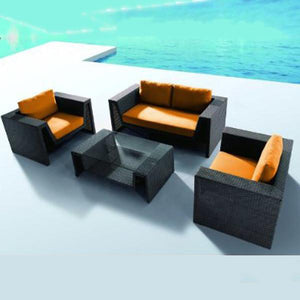 Outdoor Wicker Sofa - Elevate