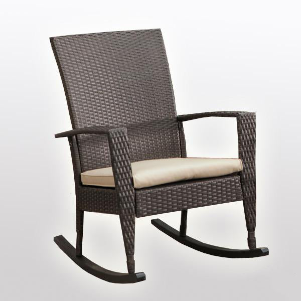 Outdoor Wicker - Rocking Chair - Desert