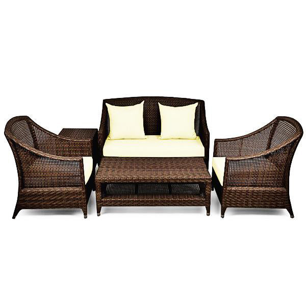 Outdoor Wicker Sofa - Ferrara