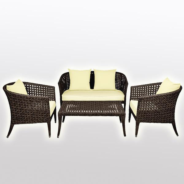 Outdoor Wicker Sofa - Rustica