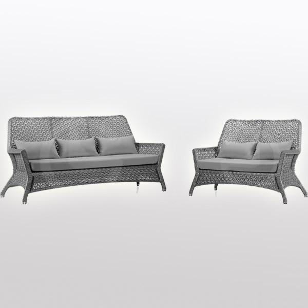 Outdoor Furniture - Wicker Sofa - Beaumont