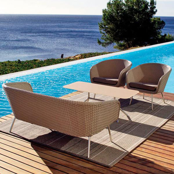 Outdoor Furniture - Wicker Sofa - Ozone