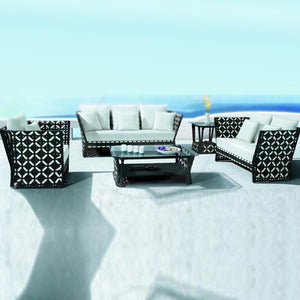 Outdoor Furniture - Wicker Sofa - Crystal