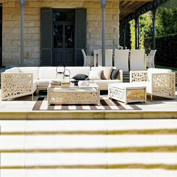 Outdoor Furniture - Wicker Sofa - Orlando