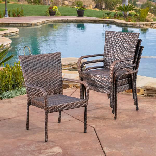 Outdoor Wicker Garden Chairs Spartan#93