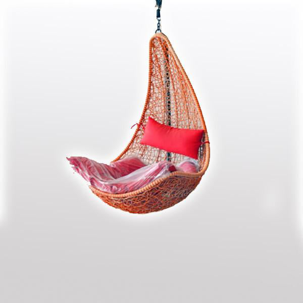 Outdoor Wicker Swing - Touch&Go