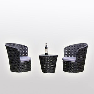 Outdoor Wicker - Stackable Set - Merino