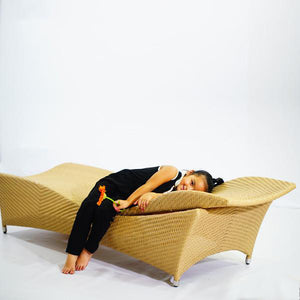 Outdoor Furniture - Sun Lounger - Fluid