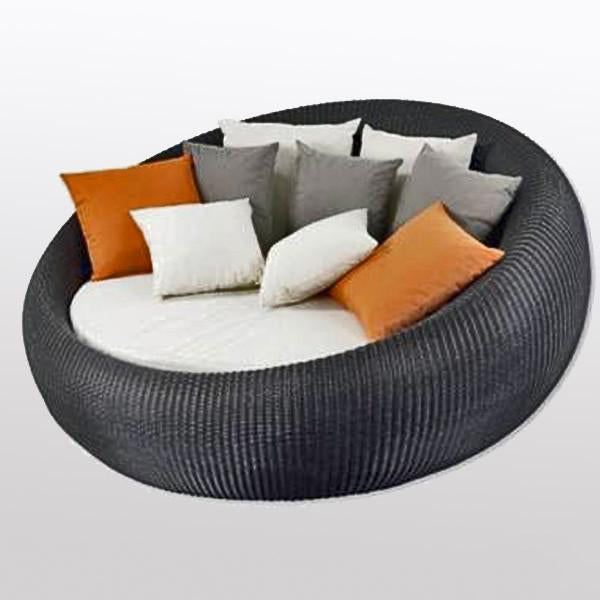 Outdoor Wicker Day Bed - Choco Day