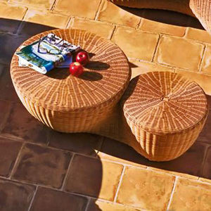 Outdoor Wicker Day Bed - Double Bottom