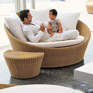 Outdoor Wicker Day Bed - Greet
