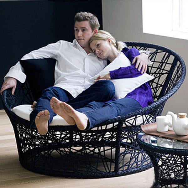 Outdoor Wicker Day Bed - Urban