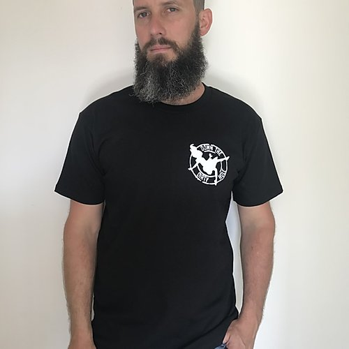 Down The Dirty Hole Tee Black