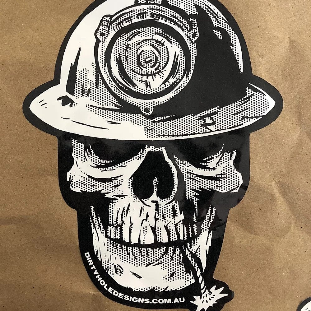 LARGE SKULL Sticker