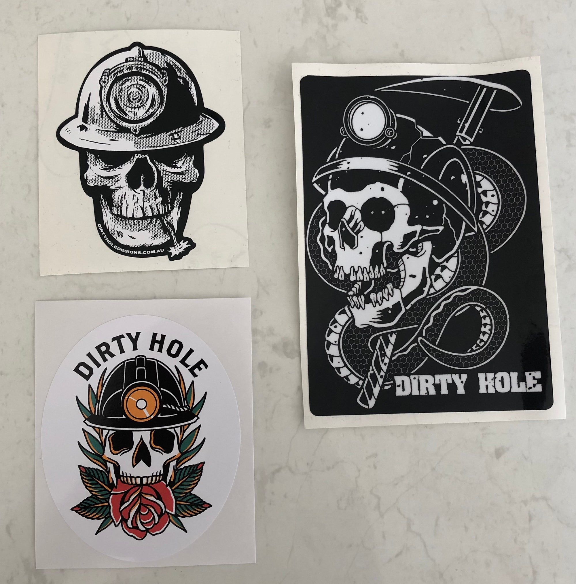 Skull Sticker Pack