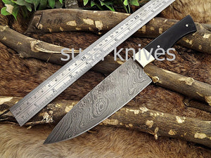 Handmade Damascus Steel Chef Knife Boxing day sale, Heartwarming gift, Wedding gift, Gift for her, Anniversary gift, Personalized gift - SUSA KNIVES