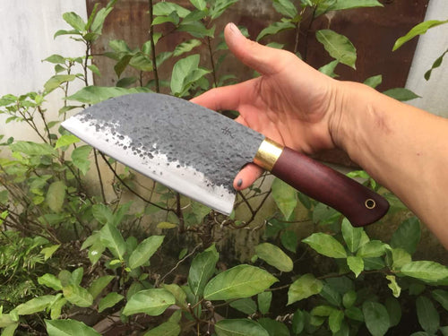 HANDMADE  FORGED CLEAVER KNIFE - SUSA KNIVES