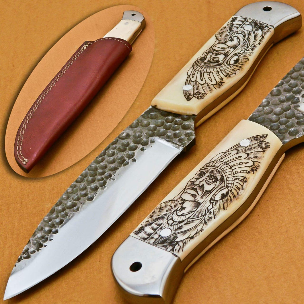 handmade beautiful hunting knive - SUSA KNIVES