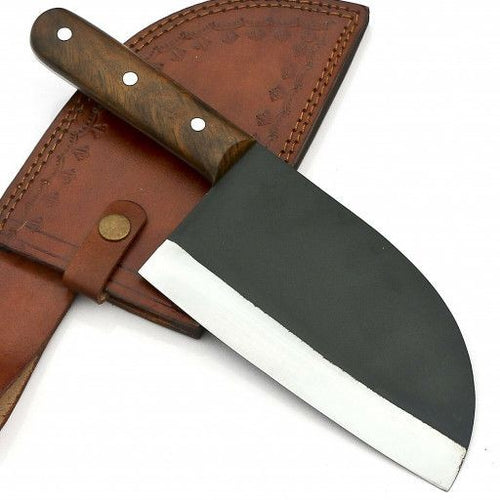 HANDMADE CLEAVER KNIFE  CORBAN STEEL - SUSA KNIVES