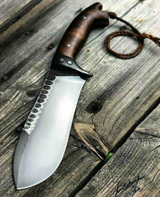 Load image into Gallery viewer, HANDMADE HUNTING FIGHTER KNIFE - SUSA KNIVES