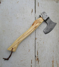 Load image into Gallery viewer, Handmade Damascus Steel Axe - SUSA KNIVES