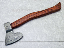 "Load image into Gallery viewer, New Beautiful Handmade Damascus Steel AXE ""UNIQUE AXE"" Limited Edition - SUSA KNIVES"