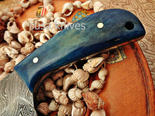 Load image into Gallery viewer, Custom made Moqen,s Damascus steel knife - SUSA KNIVES