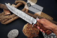 Load image into Gallery viewer, HAND FORGED DAMASCUS STEEL,STRONG GRIP OUTDOOR HUNTING,FIGHTING CLAW BOWIE KNIFE - SUSA KNIVES