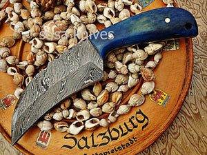 Custom made Moqen,s Damascus steel knife - SUSA KNIVES