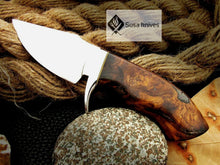 Load image into Gallery viewer, CUSTOM MADE, MIRROR POLISHED 440 C ,OUTDOOR JUNGLE HUNTING / FIGHTING CLAW KNIFE - SUSA KNIVES