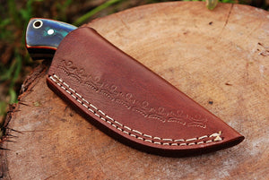 Custom hand Forged Railroad Spike Carbon Steel Fixed Blade Knife Q - SUSA KNIVES