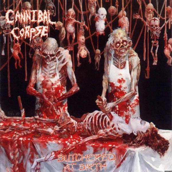 Cannibal Corpse - Butchered At Birth (enh. w. bonus track) - CD - New