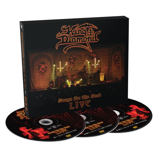 King Diamond - Songs For The Dead (CD/2DVD) - CD - New