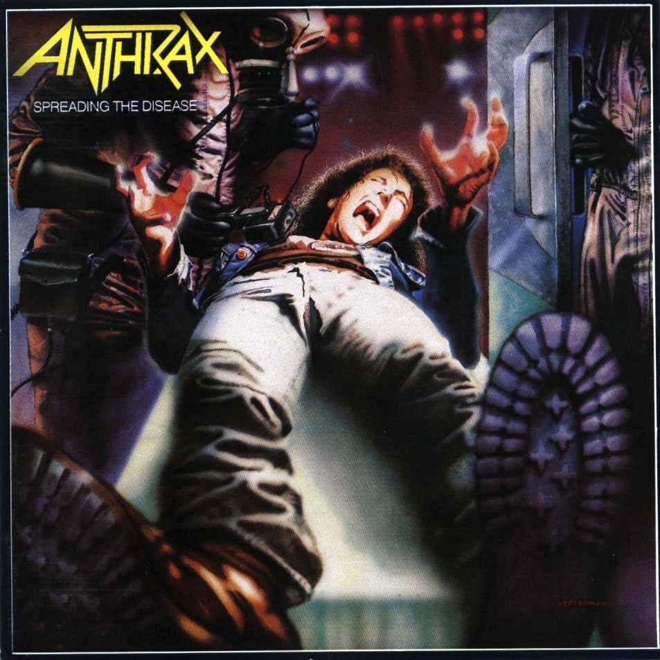 Anthrax - Spreading The Disease - CD - New