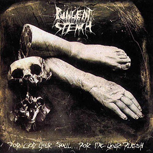 Pungent Stench - For God Your Soul...For Me Your Flesh (2018 2LP gatefold reissue - GREY Vinyl) - Vinyl - New