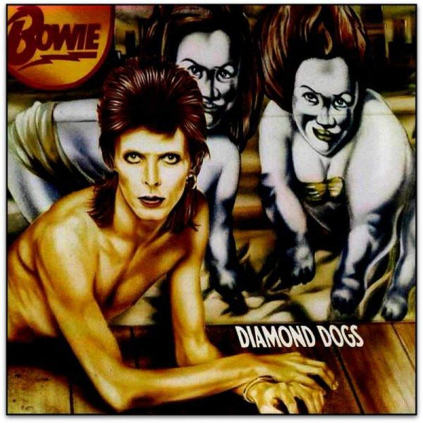 Bowie, David - Diamond Dogs (Ltd. Ed. 45th Ann. 2019 Red Vinyl gatefold reissue) - Vinyl - New