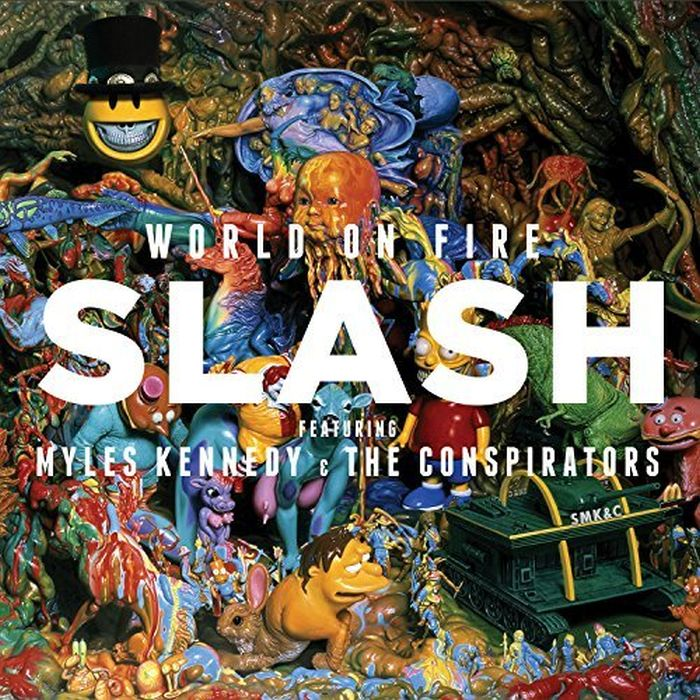 Slash feat. Myles Kennedy And The Conspirators - World On Fire (Aust. 2018 reissue) - CD - New