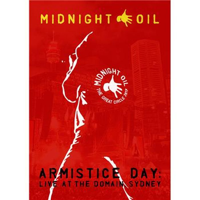 Midnight Oil - Armistice Day - Live At The Domain, Sydney (R4) - DVD - Music